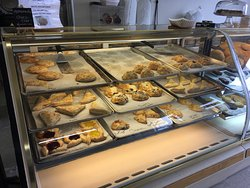 Pastries and fresh bread!