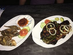 Kelong fishes caught and cooked specially by the chefs!!