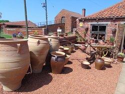 Pots and pots and pots.