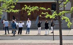Architecture tour in Columbus, Indiana