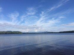 Lake Umbagog from the boat dock.