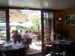 restaurant vu sur terrasse