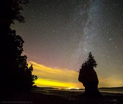‪Creative Imagery - Hopewell Rocks Night Photography Excursion‬