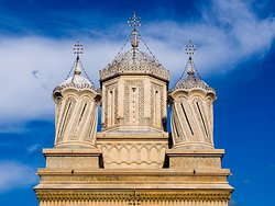 The Curtea de Arges Cathedral