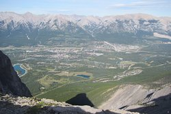Canmore, from the top