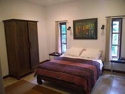 Main bedroom at the villa