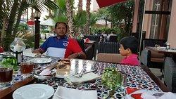 Nice Ramadan evening with the family
