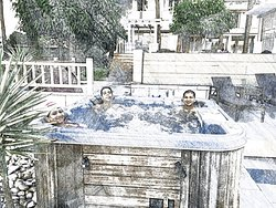 Hot Water Jacuzzi