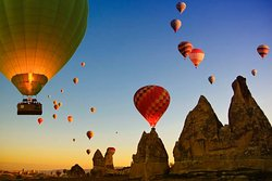 Hot Air Balloons in Cappadocia by Bonita Tour