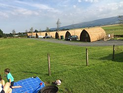 Fantastic location and comfortable Wigwams