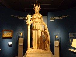 athena 200-250AD, copy of statue in parthenon