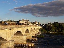 vista desde el puente.