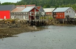 Seal Cove Herring Smoke Sheds