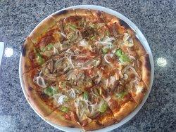 Ein sehr gutes Pizza die ich gegessen habe