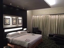 De hotelkamer waarin ik verbleef
