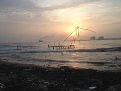 The Chinese nets of Fort Kochi