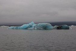 A blue iceberg