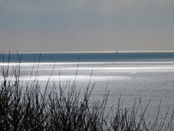 Lovely morning view at highcliffe