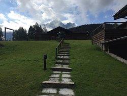 Un piccolo paradiso tra i monti..