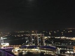 Fun evening at the worlds tallest bar