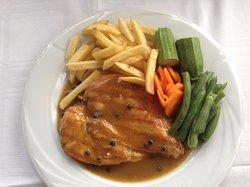 Fillet Peppered Chicken