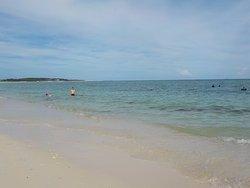 きれいなビーチです