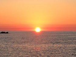 Coucher de soleil sur les îlesSanguinaires