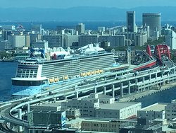 たまたま、大型客船クァンタムに!