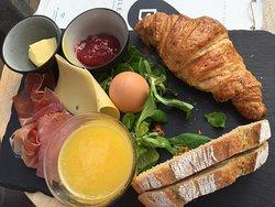 Fantastisch ontbijt..