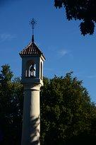 Часовня, украшенная скульптурой Св. Иоанна Непомука