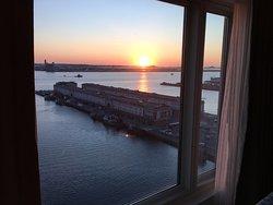 Sunrise from room 1637