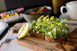 Avocado and Green Pea Toast