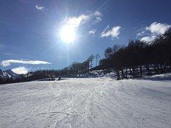 Estação de ski excelente