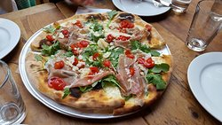 White pizza (no tomato sauce)