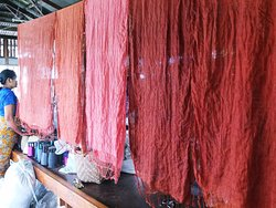 Khit Sunn Yin Lotus, Silk and Cotton Hand Weaving Centre