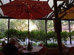 Wonderful food and patio!