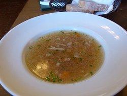 Soupe au poulet