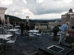 Rooftop at the Hikton Garden Inn Downtown Asheville