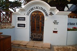 The hotel's restaurant