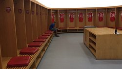 Spogliatoio Arsenal