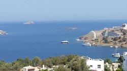 Glorious sea views