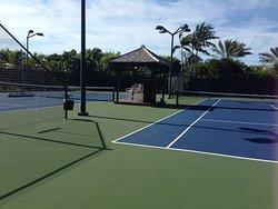 Due campi da tennis