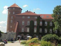 Exterior do castelo de Wawel