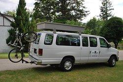 Idaho peak shuttle van