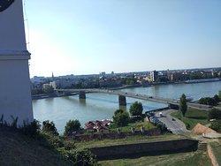 Bridge from Petrovaradin to Novi Sad
