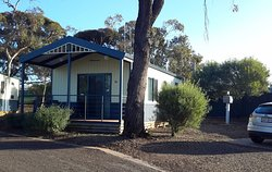 Our delightful cabin at Whyalla Discovery Parks