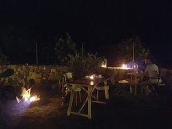 i tavoli della serata