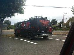 Mean Bean Van--their coffee is all over town
