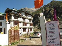 Last village before tibet