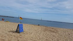 Blue flag beach!
